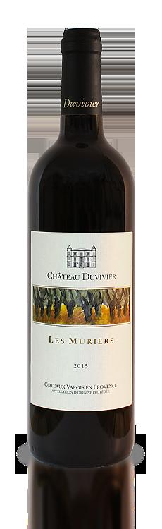 Les Mûriers Château Duvivier 2017 - Rouge