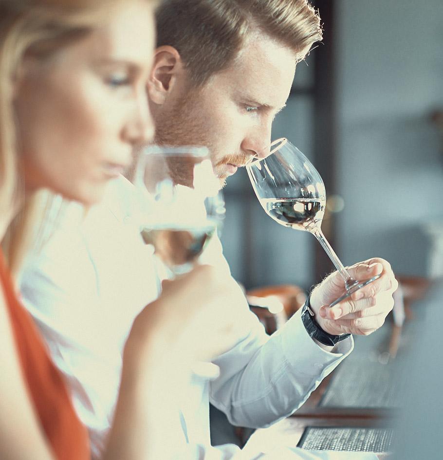 Photo de dégustation de vin
